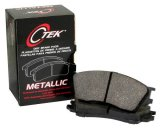 Rear C-Tek Semi-Metallic Brake Pads Infiniti 102.09050