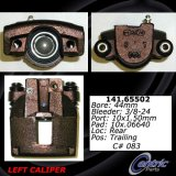 Rear Left Unloaded Rebuilt Brake Caliper 141.65502