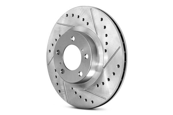 STOPTECH Street Select Slotted Drilled Brake Rotor 227.47021R