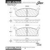 Centric Parts 117.62004 Brake Disc Hardware