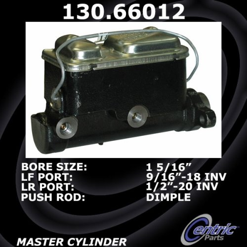 Centric Brake Master Cylinder GM 130 66012 [130 66012] - $47 50 : Auto  Brake Center, Brake Pads, Rotors, All Cars, All Models, Free Local Delivery  in
