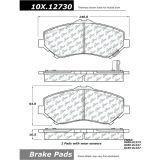 + Hardware Kit REAR SET Posi Quiet Extended Wear Brake Disc Pads 106.10210