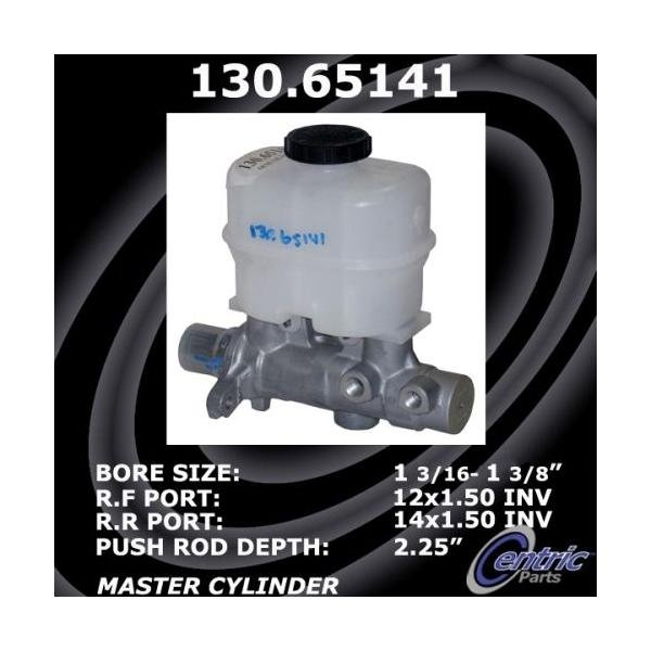 Centric Brake Master Cylinder Ford Lincoln 130.65141