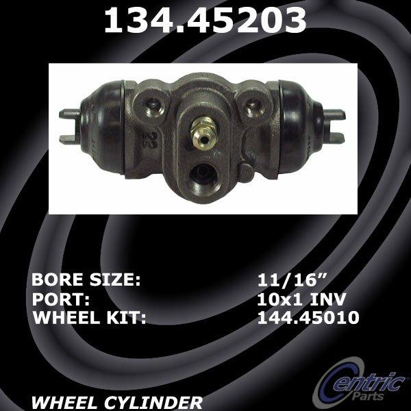 Drum Brake Wheel Cylinder-C-TEK Standard Wheel Cylinder Rear Centric 135.45203