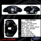 Front Left Loaded Black Brake Caliper BMW 142.34104