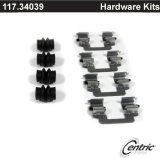 Rear Centric Brake Hardware Kit Set BMW 117.34039
