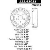 Centric Parts 122.63031 Brake Drum