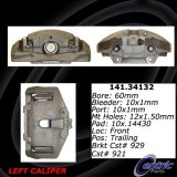 Front Left Loaded Caliper (Rebuilt) BMW 142.34132