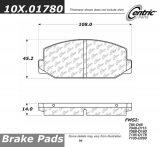 Centric Parts 102.09170 102 Series Semi Metallic Standard Brake Pad