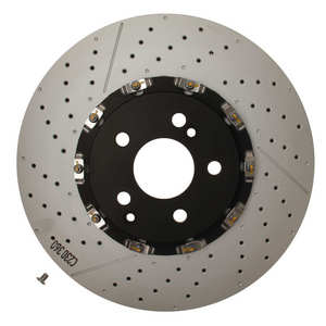 Front brembo 2 piece Slotted Drilled Brake Rotor 2194210212