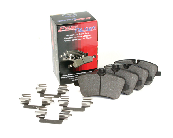 Rear Posi-Quiet Semi-Metallic Brake Pads 104.11550
