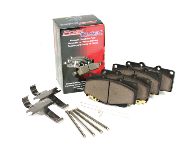 Rear Posi-Quiet Ceramic Brake Pads 105.18080
