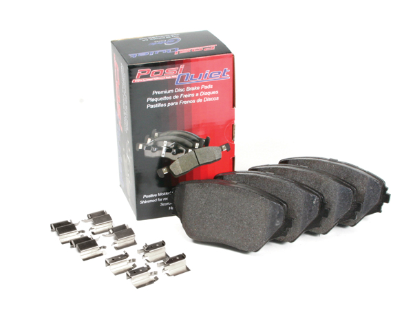 Rear Posi-Quiet Extended Wear Brake Pads Mini Cooper 106.12260