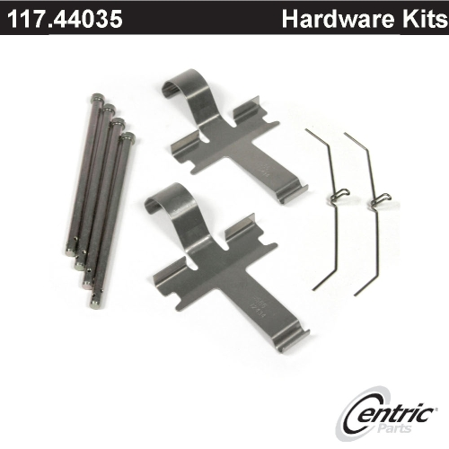 Land Rover Range Rover 03 04 05 Rear Brake Rotors Pads: Front Brake Hardware Kit Set 117.44035 [117.44035]