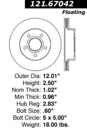 2001 Toyota HIGHLANDER Post mount spotlight -Chrome Larson Electronics 1015P9JBV8G 6 inch Passenger side WITH install kit LED