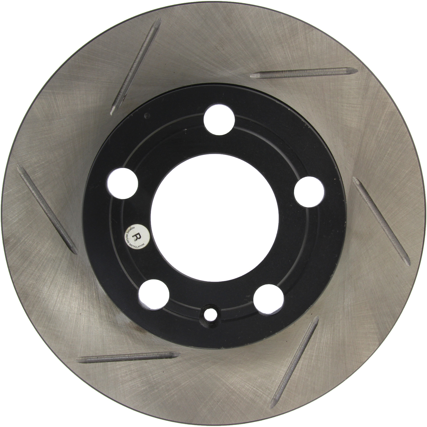 Front Left Stoptech Slotted Brake Rotor 126.400023SL
