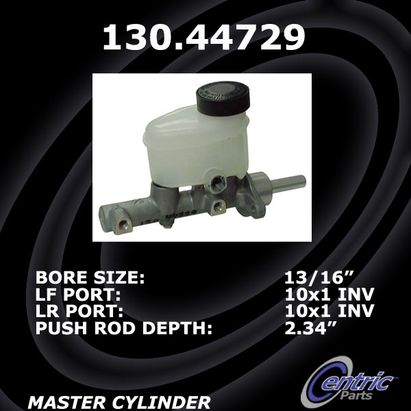 New Centric Brake Master Cylinder Tundra non VSC Unit 130.44729
