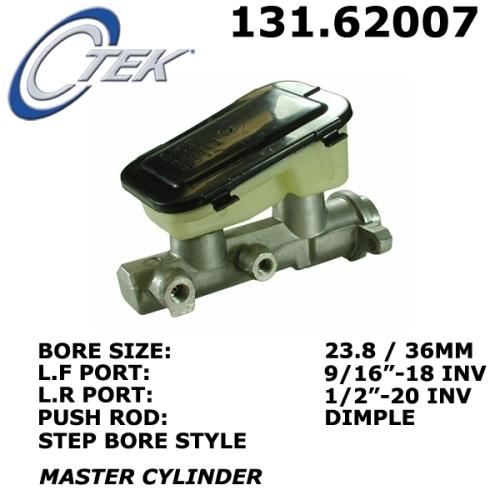 C-Tek Brake Master Cylinder Buick GMC 131.62007 [131.62007
