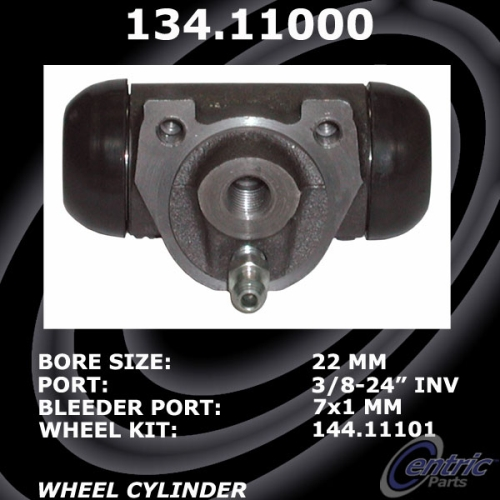 Centric Wheel Cylinder Renault R5 Le CAR 134.11000