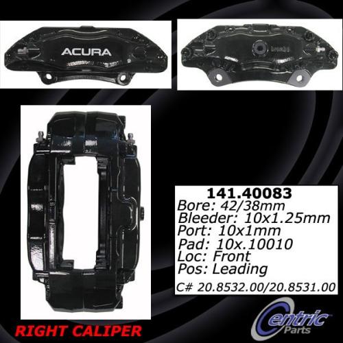 Front Right Loaded Caliper Rebuilt Acura TL 142.40083 [142