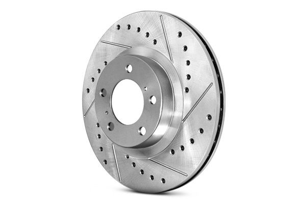 STOPTECH Street Select Slotted Drilled Brake Rotor 227.45083R