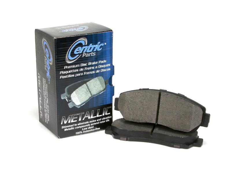 Centric Parts 300.02070 Semi Metallic Brake Pad with Shim