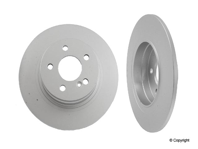 Rear Meyle Premium Brake Rotor Mercedes Benz C300 40433037