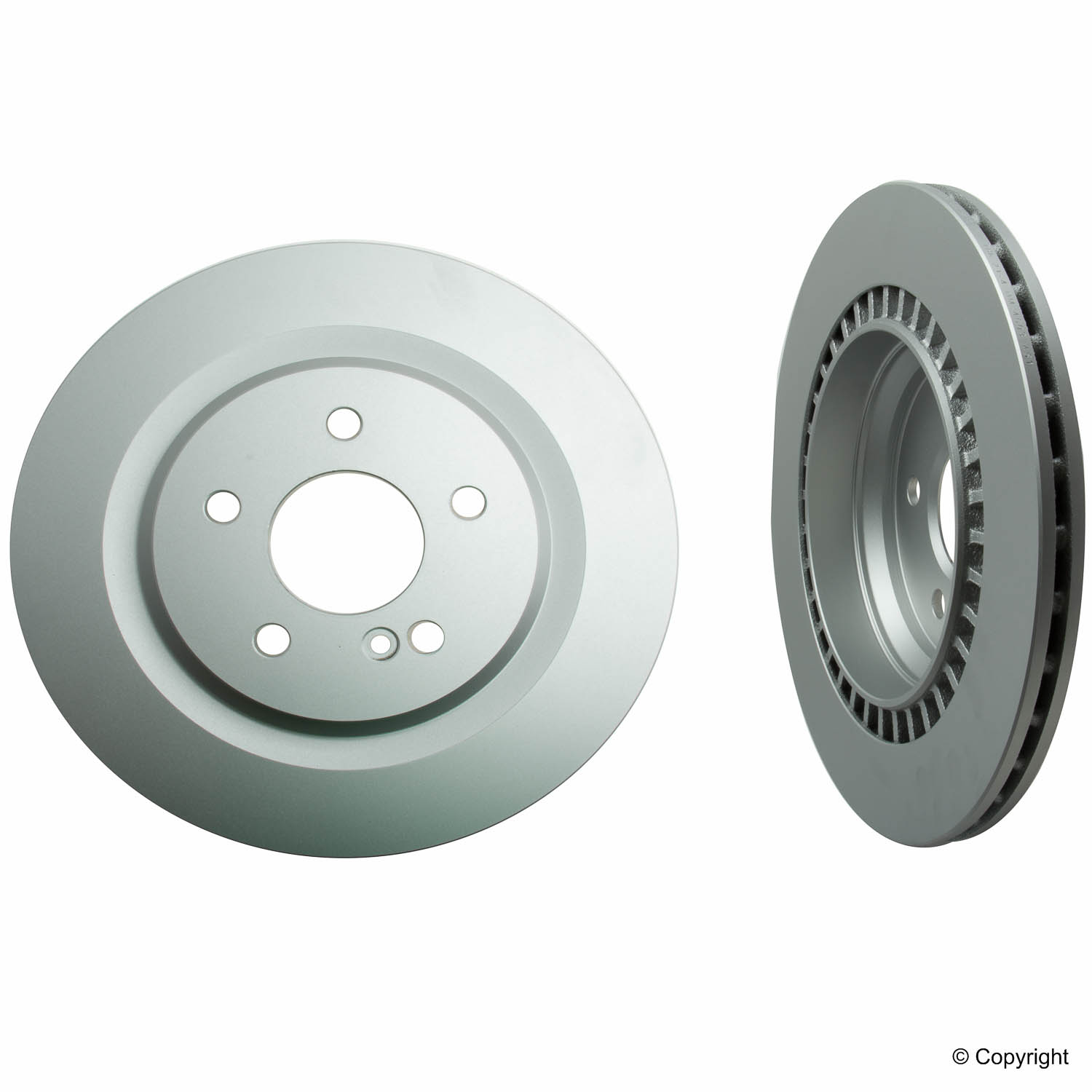 Rear non Drilled Brake Rotor Mercedes Benz 40433196