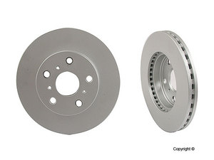 Front Meyle OE Quality Brake Rotor Toyota Camry 40451148