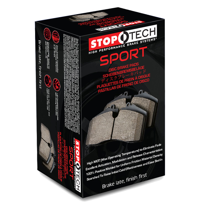 Front STOPTECH Sport Performance Brake Pads 309.12470
