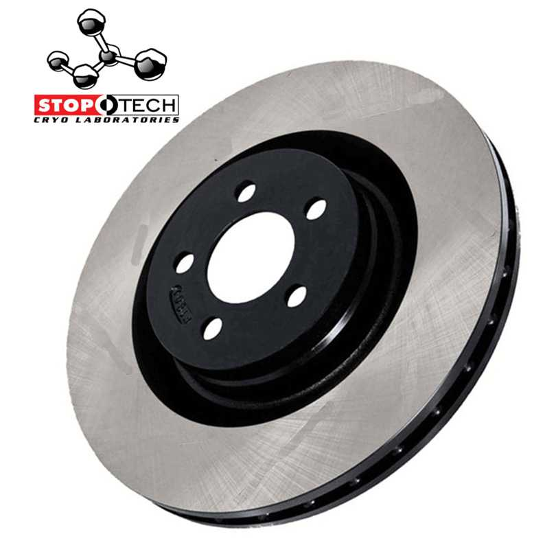 STOPTECH Cryogenic Brake Rotor 120.50009CRY