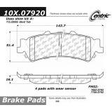 Rear Centric Semi-Metallic Brake Pads 300.07920
