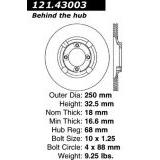 Front Brake Rotor 1983 - 1989 Isuzu Impulse 121.43003