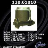 Centric Brake Master Cylinder Lincoln 130.61010