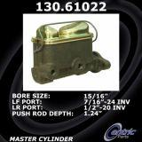 Centric Brake Master Cylinder 1974 Ford Pinto 130.61022