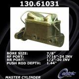 Centric Brake Master Cylinder Ford Mercury 130.61031