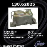 New Centric Brake Master Cylinder Chevrolet 130.62025