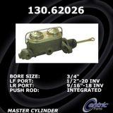 New Centric Brake Master Cylinder Chevrolet 130.62026