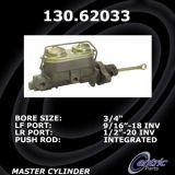 New Centric Brake Master Cylinder Chevrolet 130.62033