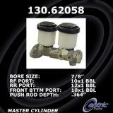 New Centric Brake Master Cylinder Chevrolet 130.62058