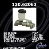 New Centric Brake Master Cylinder Chevrolet 130.62063