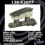 New Centric Brake Master Cylinder Chevrolet 130.62077