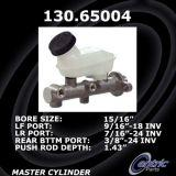 New Centric Brake Master Cylinder Ford 130.65004