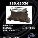 New Centric Brake Master Cylinder Ford 130.65026