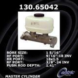 New Centric Brake Master Cylinder Ford 130.65042