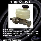 New Centric Brake Master Cylinder Ford 130.65051