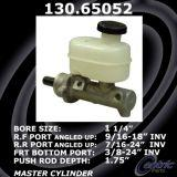 New Centric Brake Master Cylinder Ford 130.65052