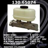 New Centric Brake Master Cylinder Ford 130.65074
