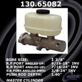 New Centric Brake Master Cylinder Ford 130.65082