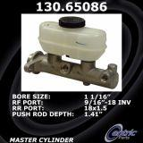 New Centric Brake Master Cylinder Ford 130.65086